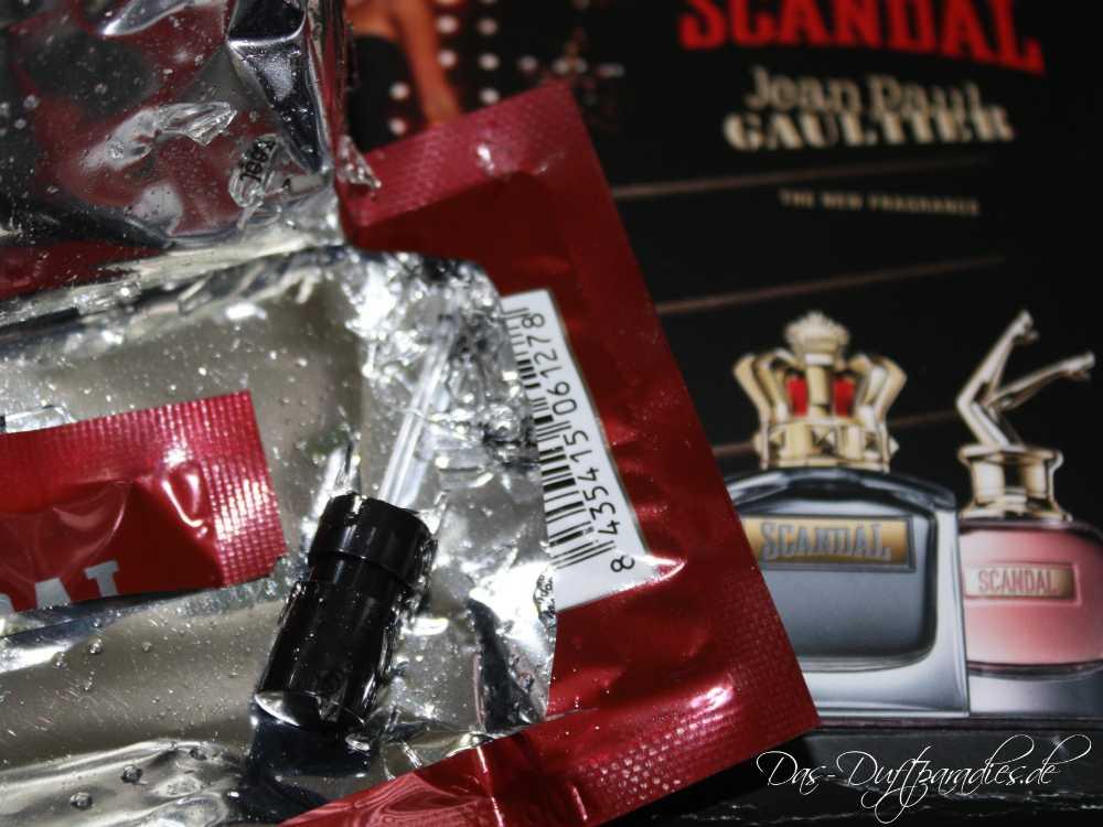 Parfüm zerbrochen: Jean-Paul Gaultier Scandal Pour Homme