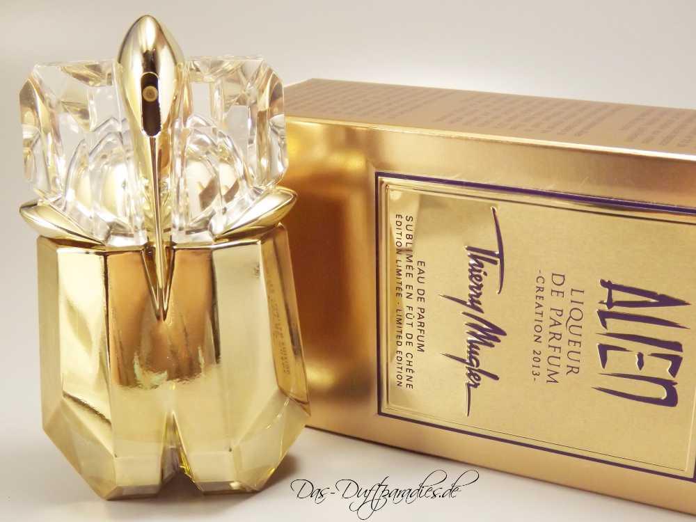 Thierry Mugler Alien goldener Flakon - wie Mugler Alien Goddess EdP
