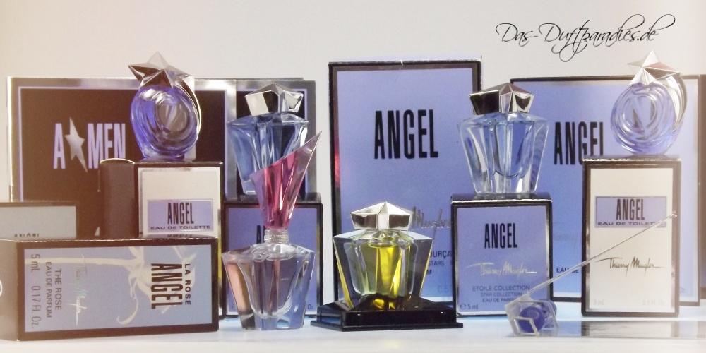 Unser liebstes Parfüm Konvolut: Thierry Mugler Angel Flakons