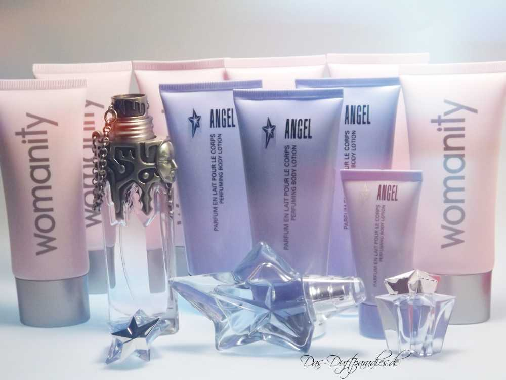 Thierry Mugler Bodylotions - Angel & Womanity
