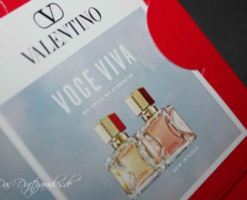 DamenparfümValentino Voce Viva Intensa EdP Duftbeschreibung