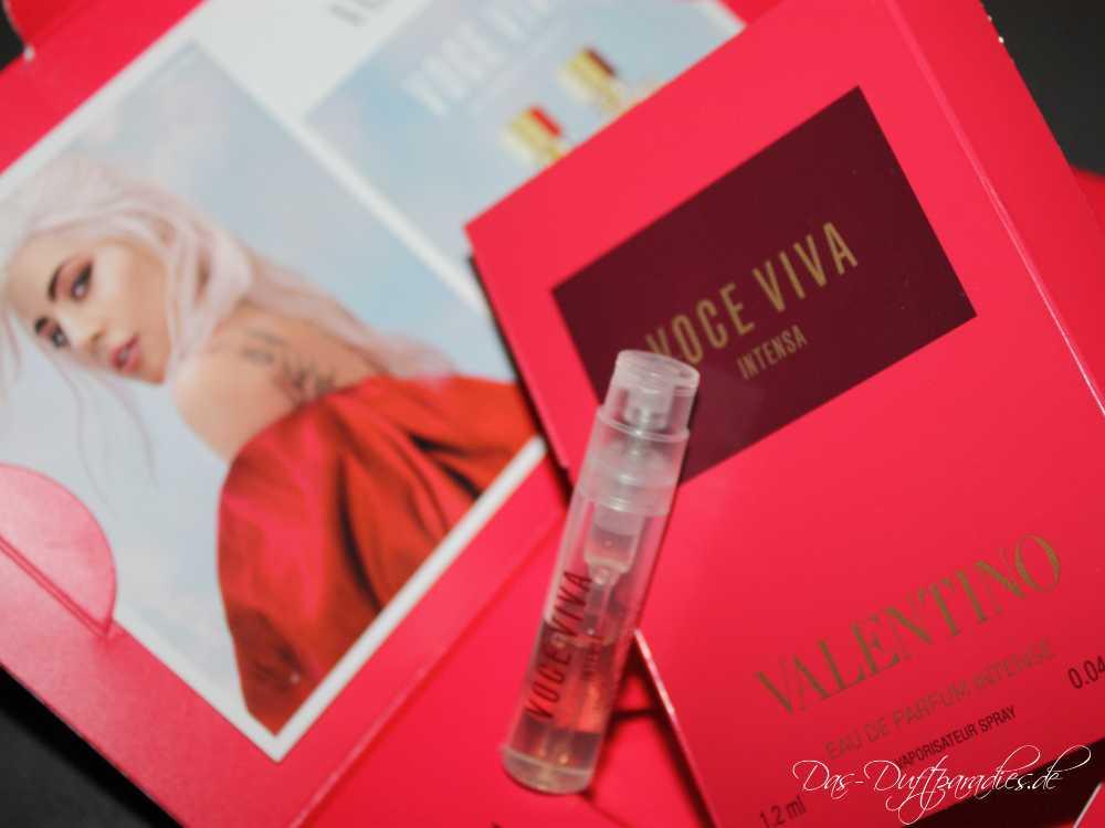 Valentino Voce Viva Intensa Parfümprobe Eau de Parfum